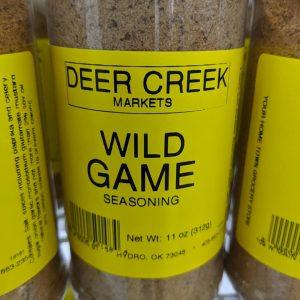 DEER CREEK MARKET WILD GAME SEASONING