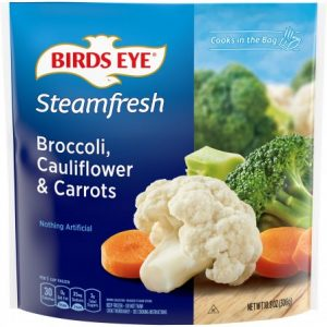 BIRD'S EYE BROCCOLI, CAULIFLOWER, AND CARROT, 16OZ
