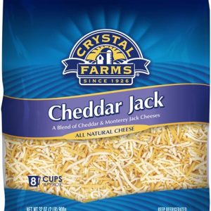 CF SHREDDED CHEDDAR JACK CHEESE, 8OZ