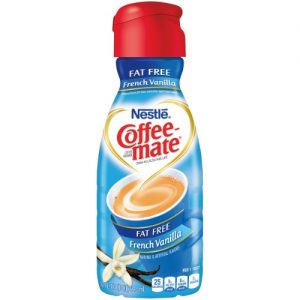 COFFEE MATE Fat Free French Vanilla Liquid Coffee Creamer 32 Fl. Oz