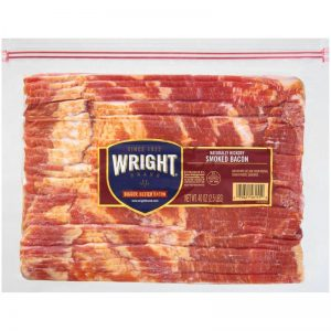 WRIGHT'S THICK SLICED BACON6.39