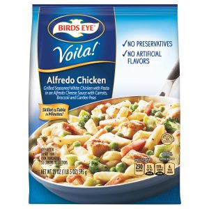BIRD'S EYE VIOLA ALFREDO CHICKEN, 21OZ