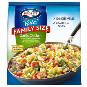 BIRD'S EYE VIOLA FAMILY SIZE GARLIC CHICKEN, 42OZ