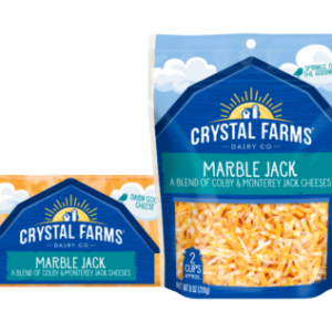 CF MARBLE JACK CHEESE, 8OZ