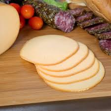SMOKED GOUDA CHEESE, PER POUND OR SLICE