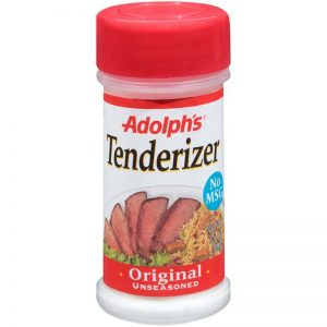 Adolph's Meat Tenderizer Original Unseasoned 3.5 Oz Bottle
