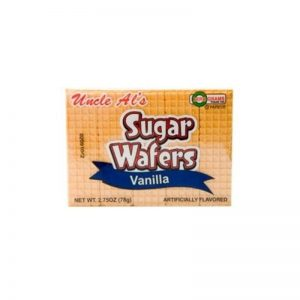 UNCLE AL'S VANILLA SUGAR WAFERS, 2.75OZ