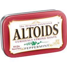 ALTOIDS PEPPERMINT MINTS, 1.7OZ