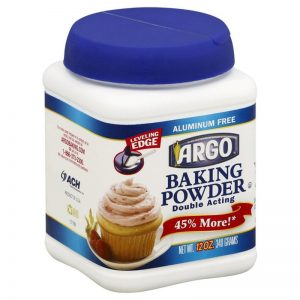 ARGO BAKING POWDER, 12OZ