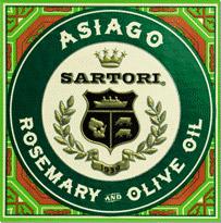 SARTORI ASIAGO ROSEMARY & OLIVE OIL, 5.3OZ