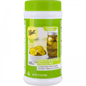 BALL BREAD AND BUTTER PICKLE MIX, 12OZ