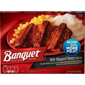 BANQUET CLASSIC BACKYARD BBQ FROZEN MEAL, 10.45OZ