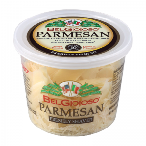 BELGIOIOSO PARMESAN SHAVED CHEESE, 5OZ