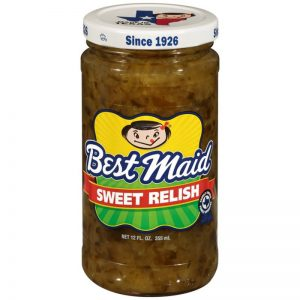 BEST MAID SWEET RELISH, 12OZ