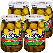 BEST MAID JALAPENO BREAD AND BUTTER PICKLES, 16OZ