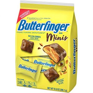 BUTTERFINGER FUN SIZE CANDY, 10.8OZ