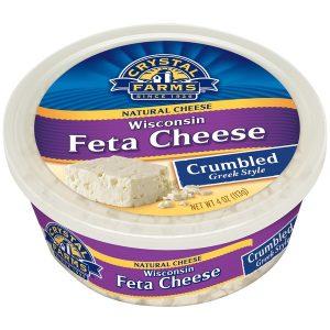 CF FETA CRUMBLE CHEESE, 4OZ