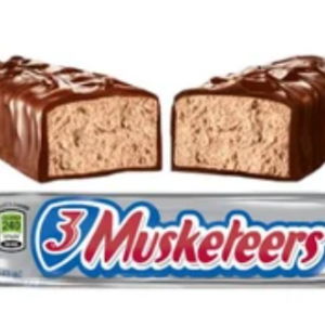 3MUSKETEERS CANDY BAR, 1.92OZ