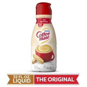 COFFEE MATE LIQUID ORGINAL CREAMER, 32OZ