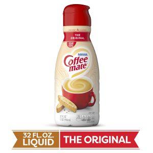 COFFEE MATE LIQUID ORGINAL CREAMER, 32OZ