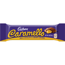 HERSHEY'S CARMELLO CHOCOLATE BAR, 1.6OZ