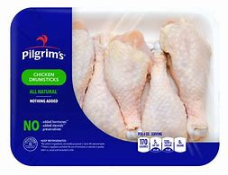 PILGRAMS FRESH CHICKEN DRUMSTICKS (100% NATURAL), 1 PACK