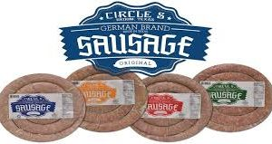 CIRCLE S GERMAN BRAND ORIGINAL SAUSAGE