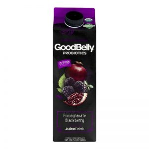 GOODBELLY PROBIOTICS JUICE DRINK POMEGRANATE BLACKBERRY, 32OZ