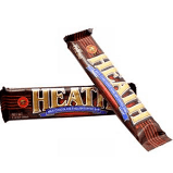 HERSHEY'S HEATH CANDY BAR, 1.4OZ