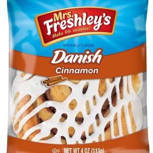 MRS. FRESHLEY'S TEXAS CINNAMON DANISH, 4OZ