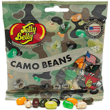 JELLY BELLY CAMO JELLY BEANS, 3.5OZ