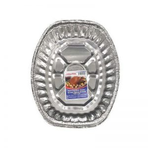 JIFFY FOIL UTILITY PAN W/ LID, 1CT