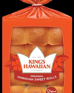 KING'S HAWAIIAN ROLLS, 12OZ