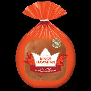 KINGS HAWAIIAN ROUND BREAD, 16OZ