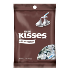 HERSHEY'S KISSES CHOCOLATE, 5.3OZ