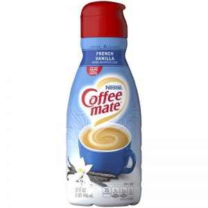 COFFEE MATE LIQUID FRENCH VANILLA CREAMER, 32OZ