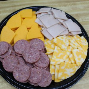 MEAT AND CHEESE TRAY, CUSTOM
