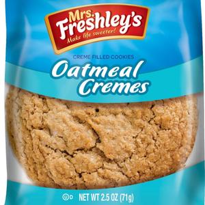 MRS. FRESHLEY'S OATMEAL CREME FILLED COOKIES, 1 EA