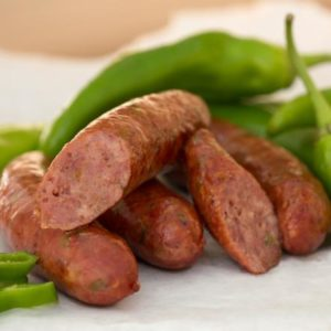 OPAS HATCH GREEN CHILE SMOKED SAUSAGE