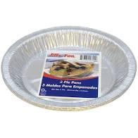JIFFY FOIL PIE PANS, 3PK