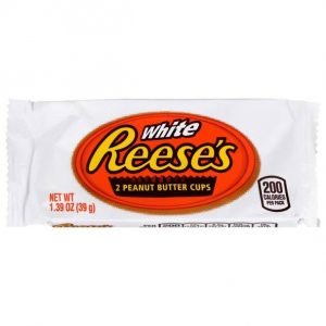 HERSHEY'S REESES WHITE CHOCOLATE PEANUT BUTTER CUP, 1.39OZ