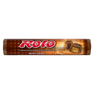 HERSHEY'S ROLO CANDY, 1.7OZ