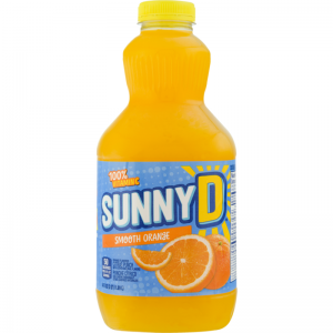 SUNNY D, SMOOTH CITRUS PUNCH, ORANGES 64.00 fl oz
