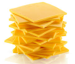 YELLOW AMERICAN CHEESE, PER POUND OR SLICE