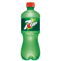7UP Caffeine-Free Lime Flavored Soda, 20oz