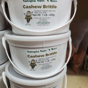 Cashew Brittle 1 lb