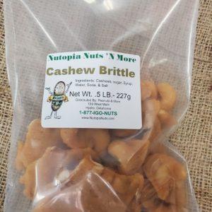 Cashew Brittle 1/2 lbs Brittle