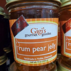 Gigi's Rum Pear Jelly 9oz