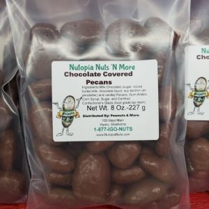 Chocolate Covered Pecans 8 OZ