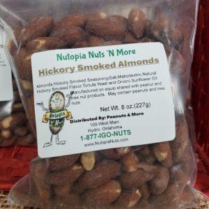 Hickory Smoked Almonds 8oz